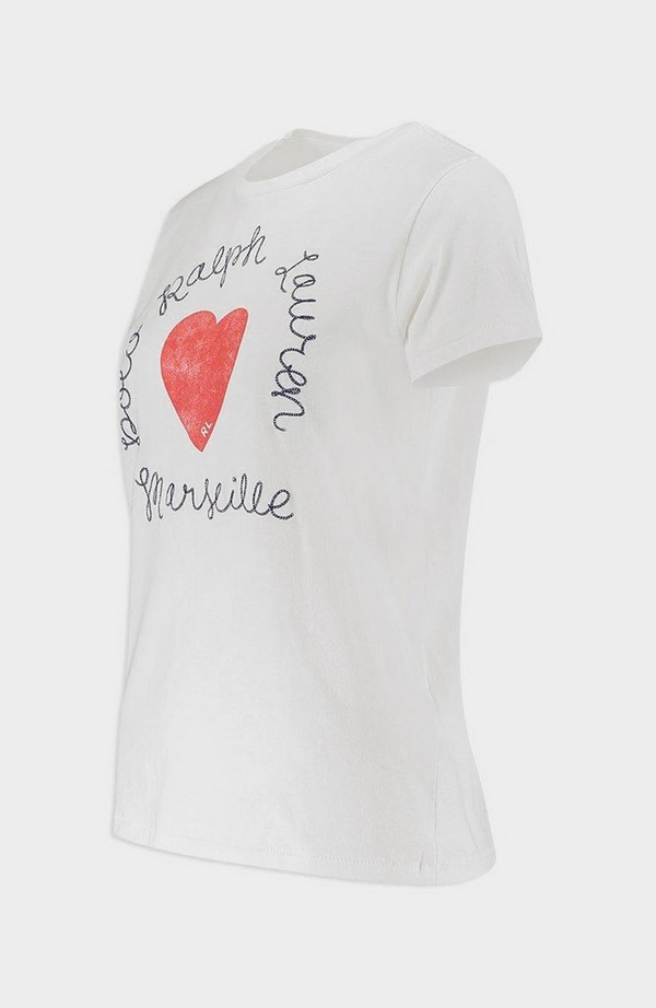 Polo Love Heart Short Sleeve T-Shirt