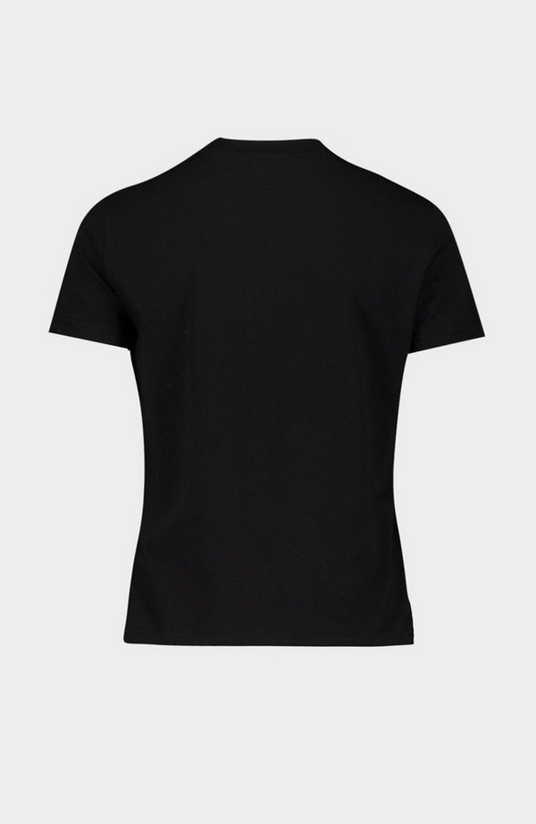 Baroque Motif Short Sleeve T-Shirt