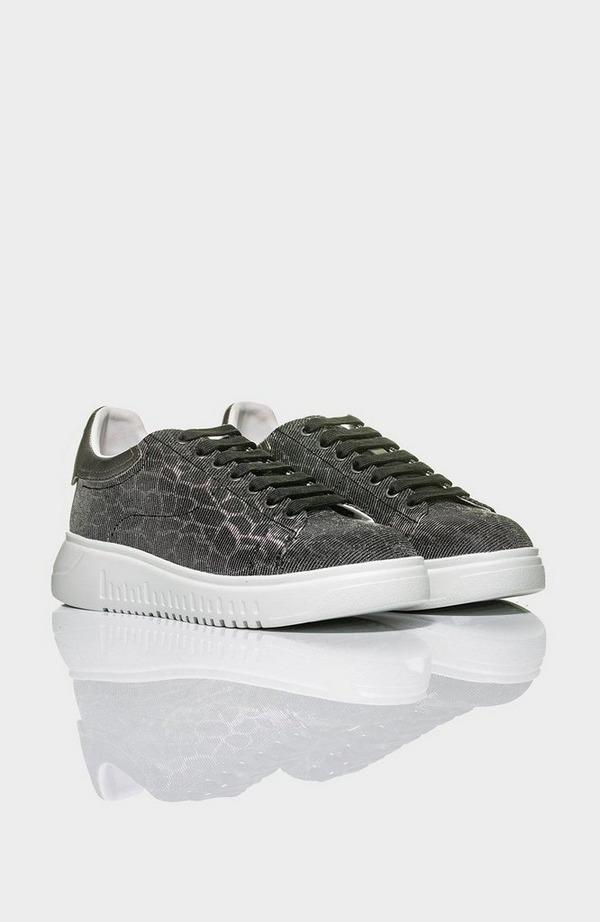 Metallic Back Sneaker