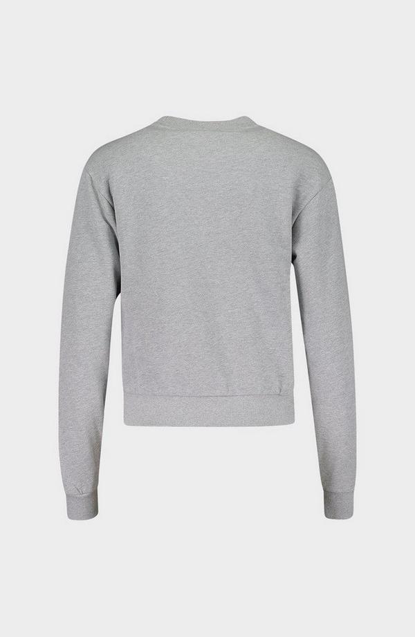 Embellished Icon Fleece Sweatshirt
