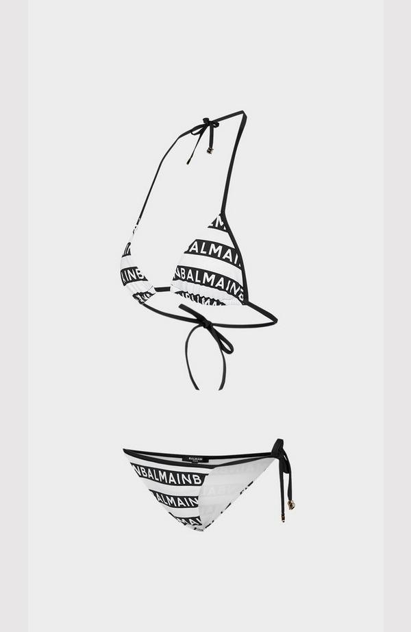 Iconic Stripes Triangle Bikini