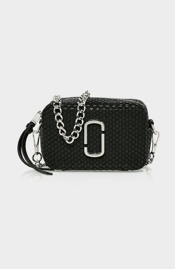 Softshot 17 Embossed Python Bag