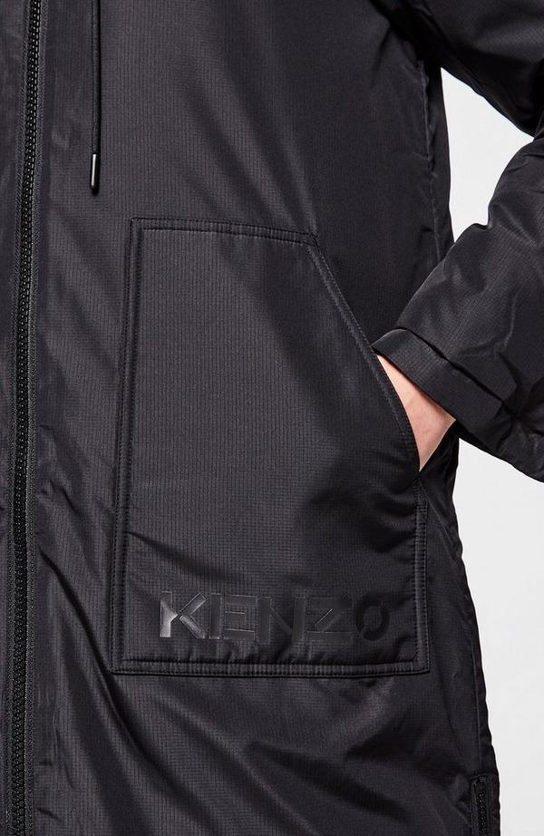 Reversible Long Puffer Jacket