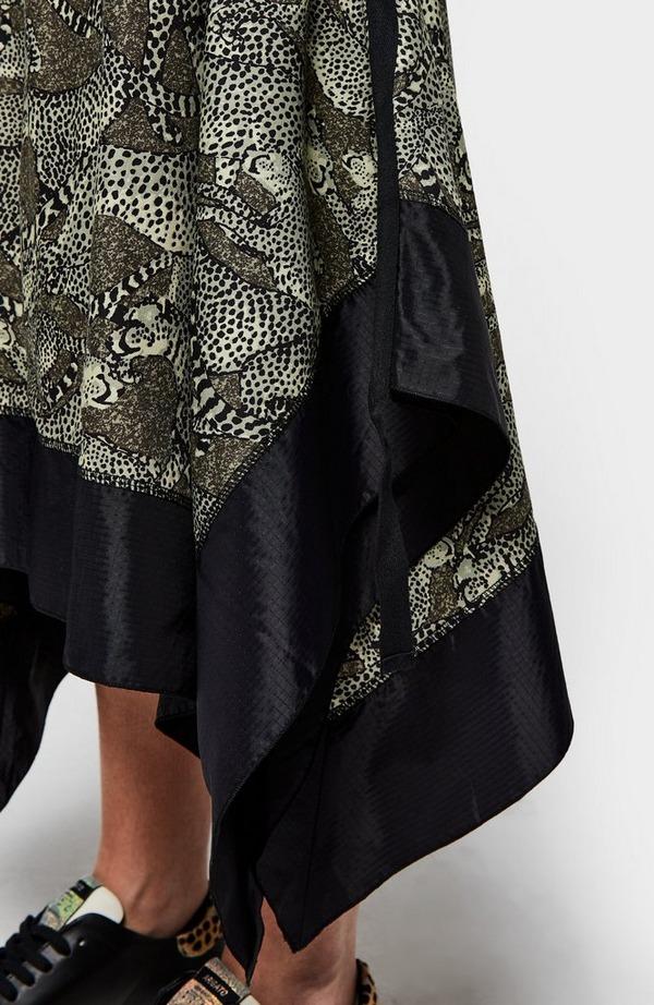 K Cheetahs Short Sleeve Dress