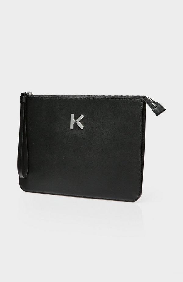 Metal K Flat Clutch