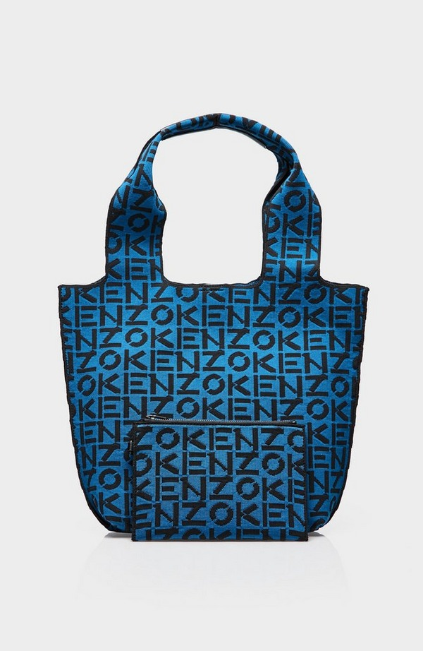 Recycled Monogram Small Tote Bag