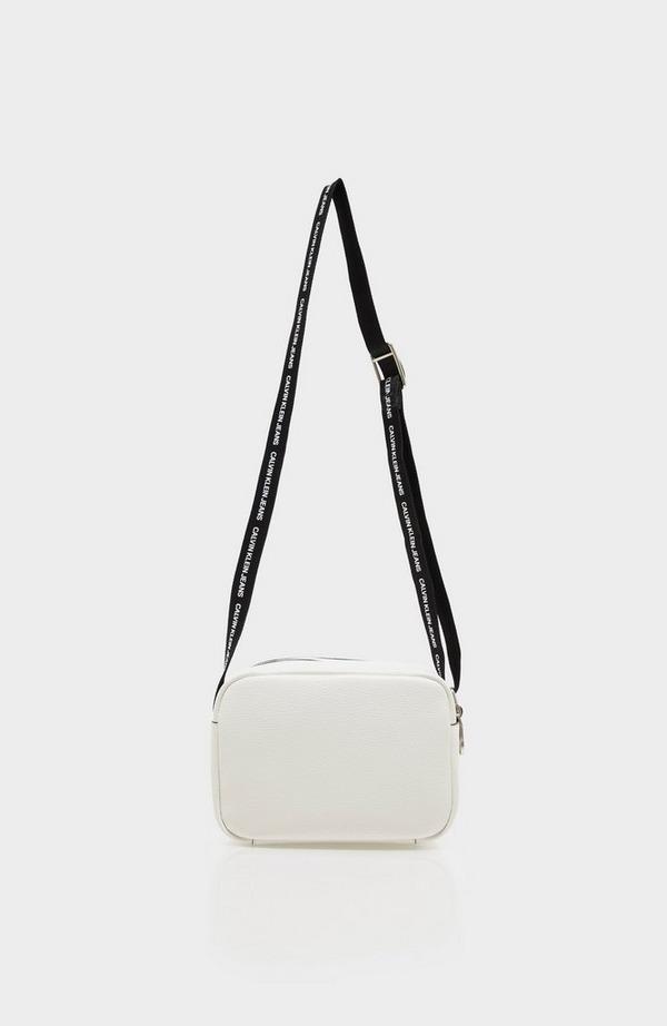 Double Zip Logo Strap Camera Bag