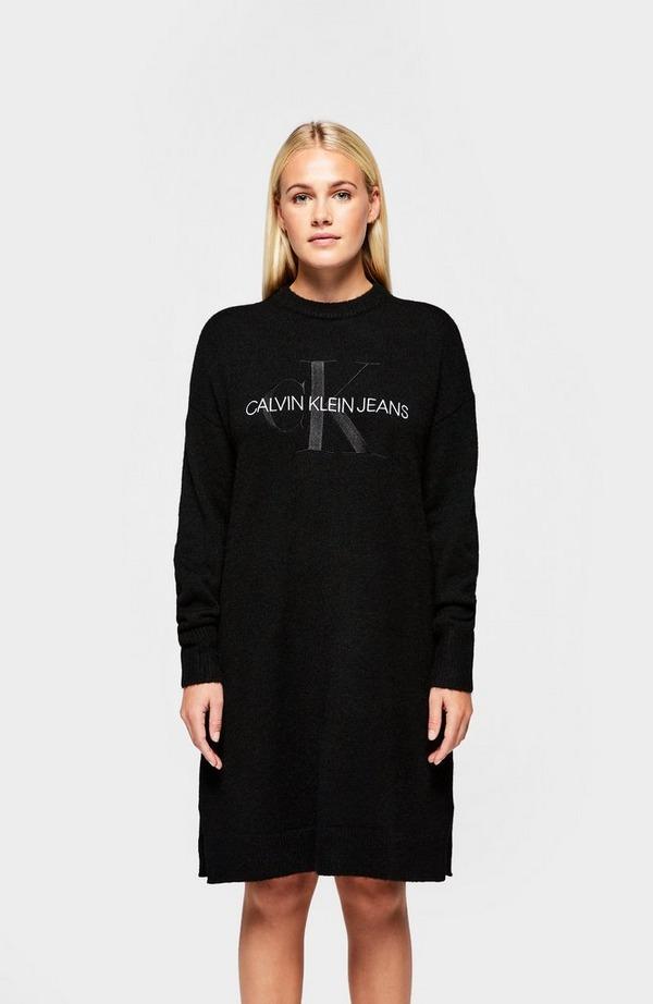 Lofty Monogram Sweater Dress