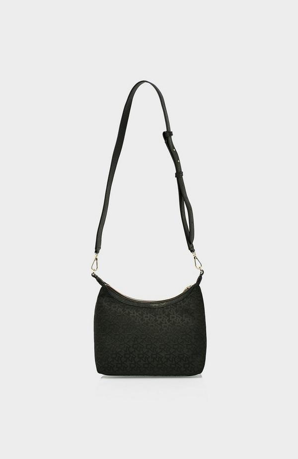 Carol Logo Jacquard Pouchette Bag