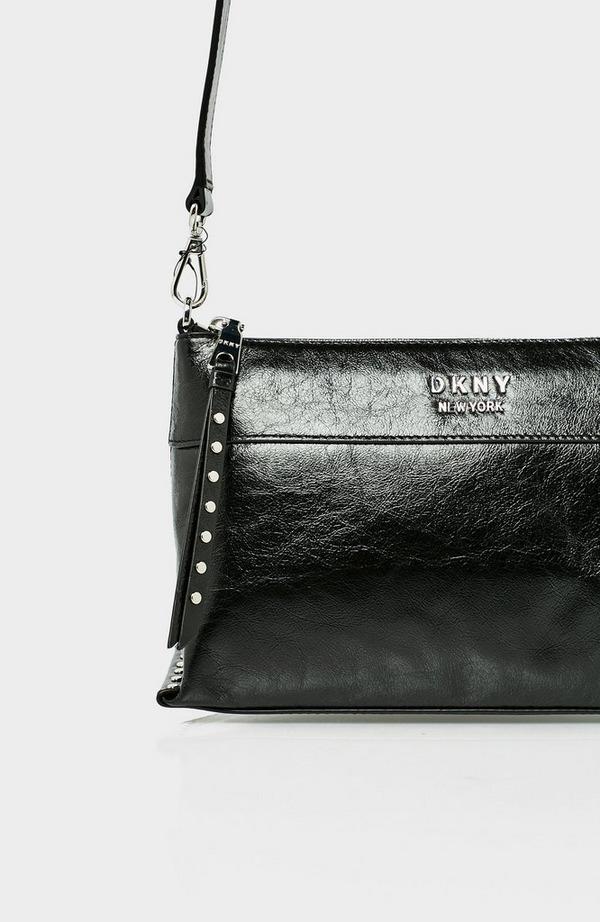 Iris Leather Crossbody Bag