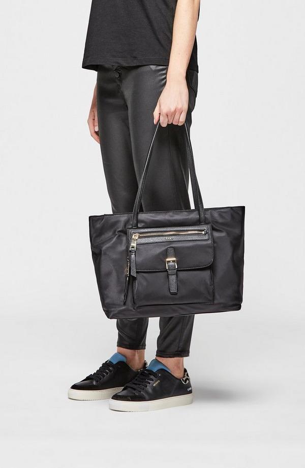 Cora Nylon Tote Bag
