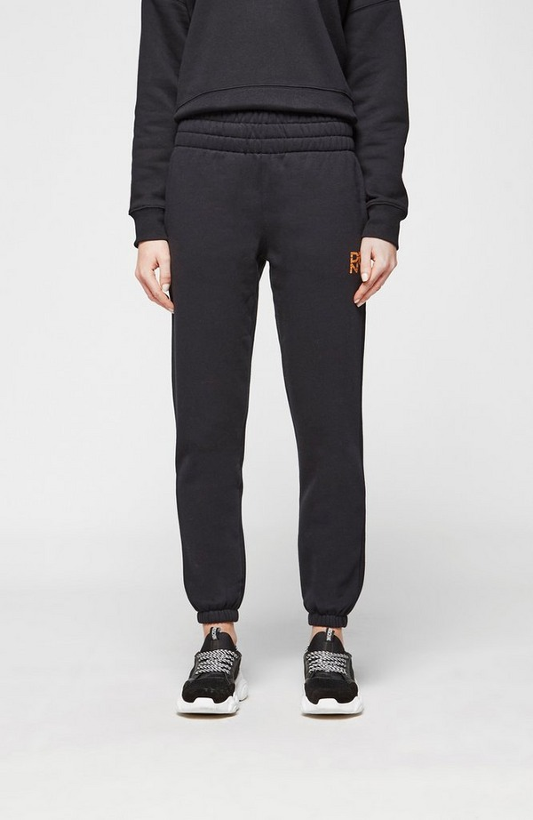 Tiger King Embroidered High Waisted Jogging Bottoms