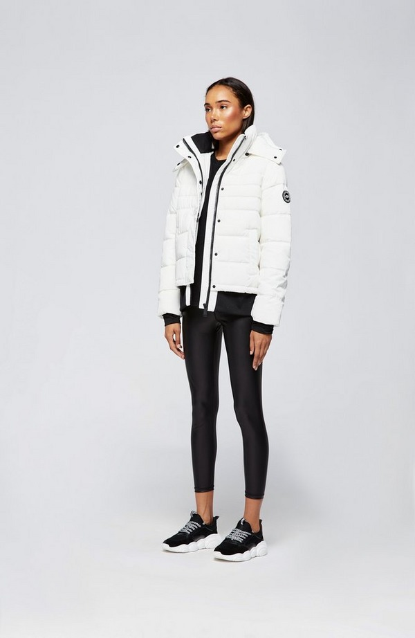 Ribbed Puffer Jacket