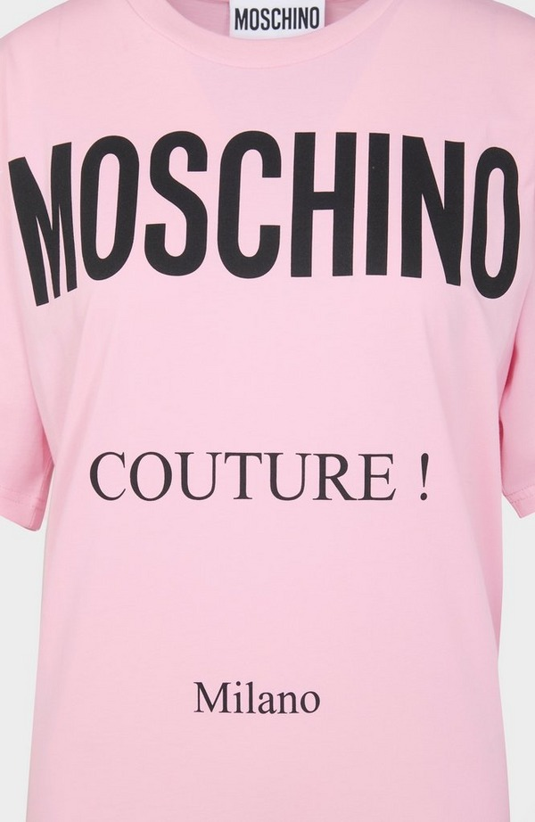 Couture Logo Oversized T-Shirt