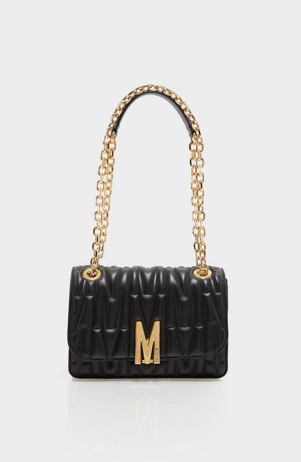 M Quilted Shoulder Flap Bag