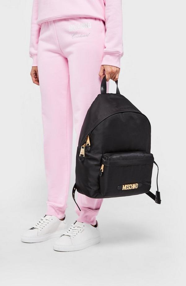 Nylon Logo Backpack