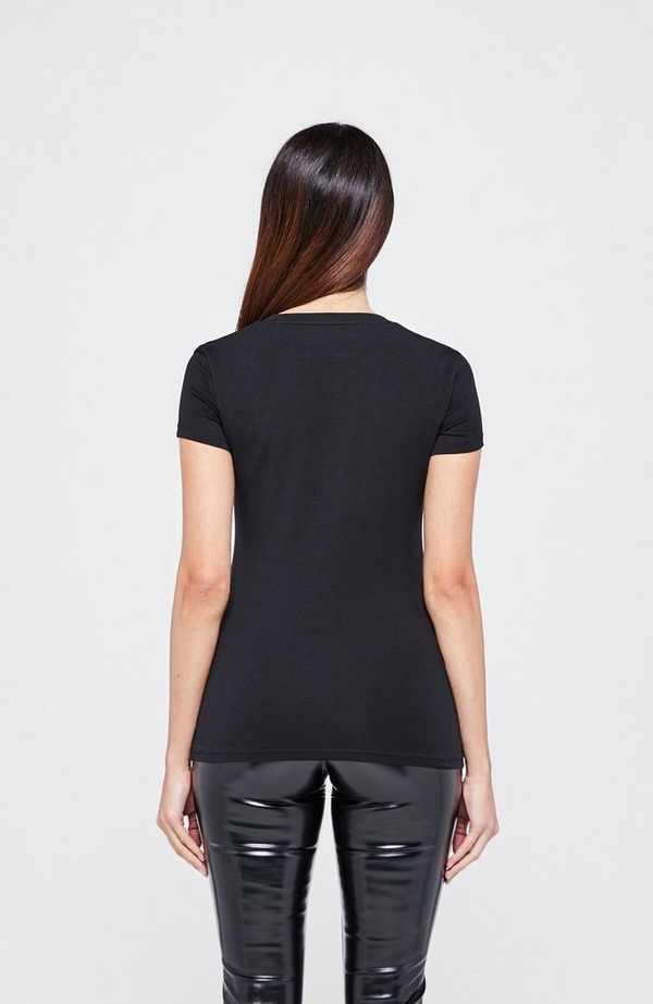 Mini Triangle V-Neck Short Sleeve T-Shirt