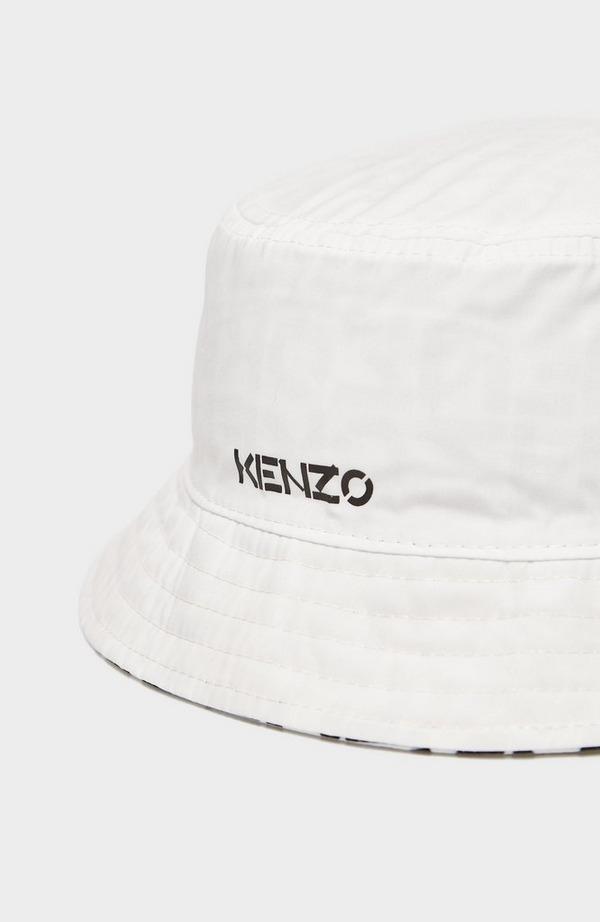 Reversible Monogram Bucket Hat