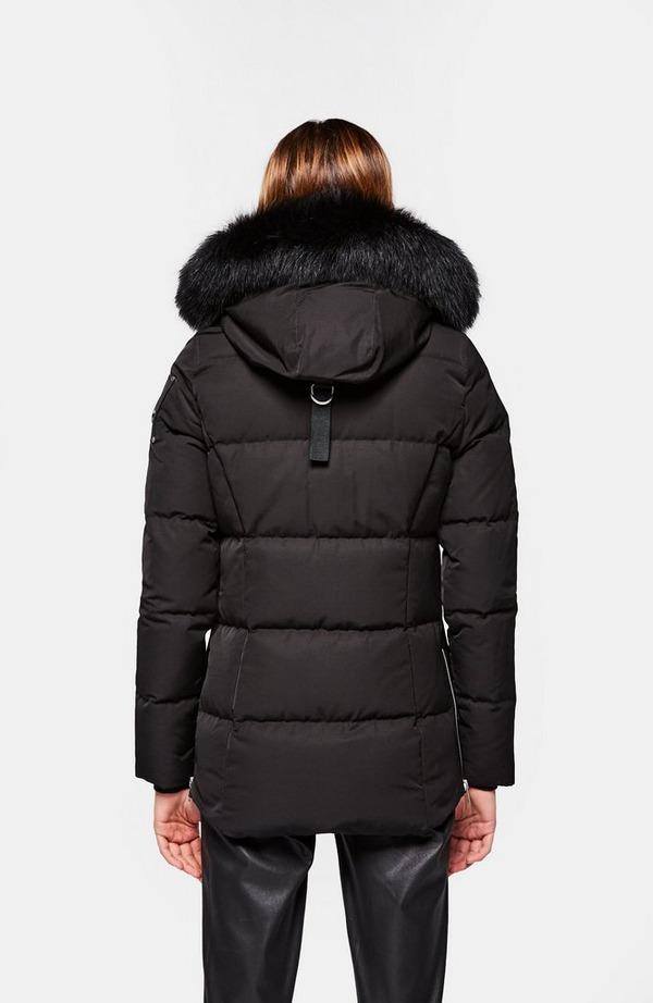 Astoria Cloud Fur Hood Bomber