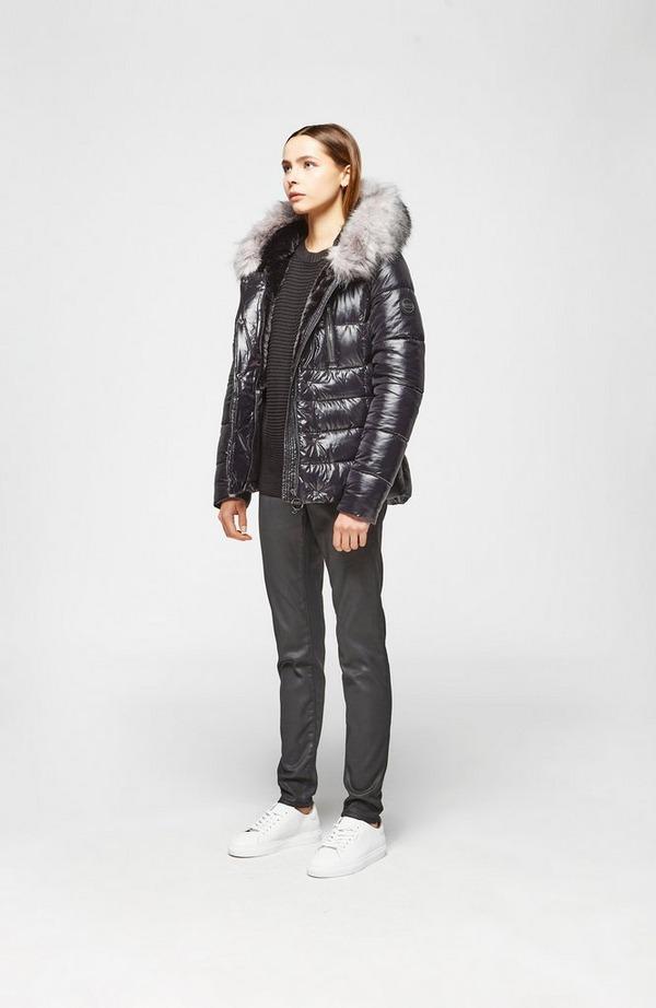Platinum Chromium Quilted Jacket
