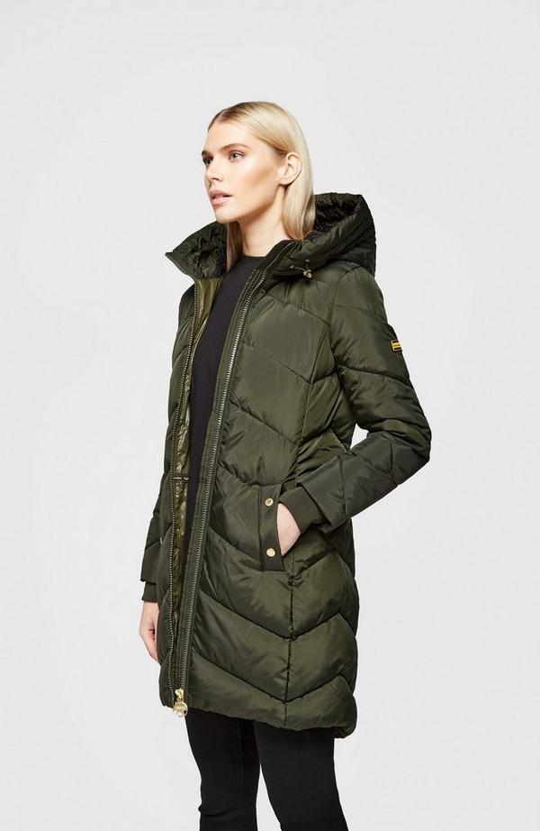 Braeside Quilted Hood Jacket