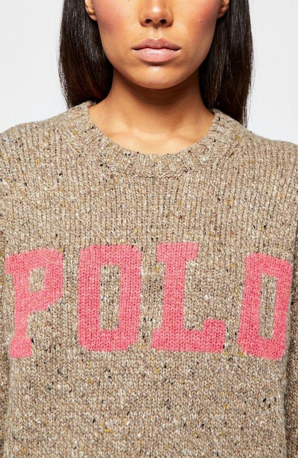 Classic Polo Logo Crew Neck Sweatshirt