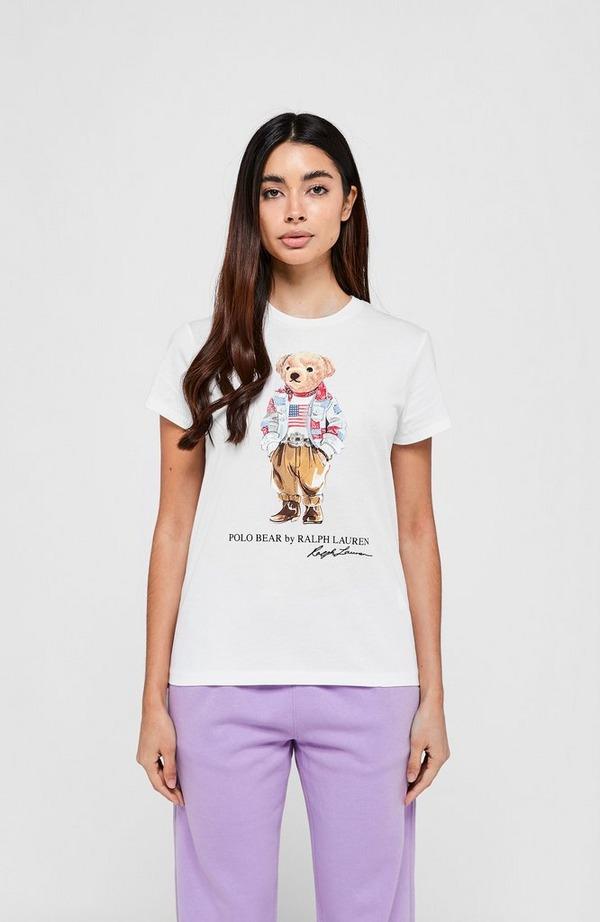 Denim Bear Short Sleeve T-Shirt