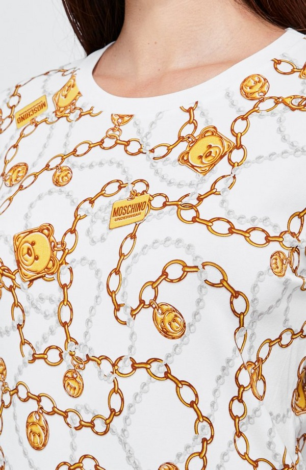 Chain And Pearl SS Tee