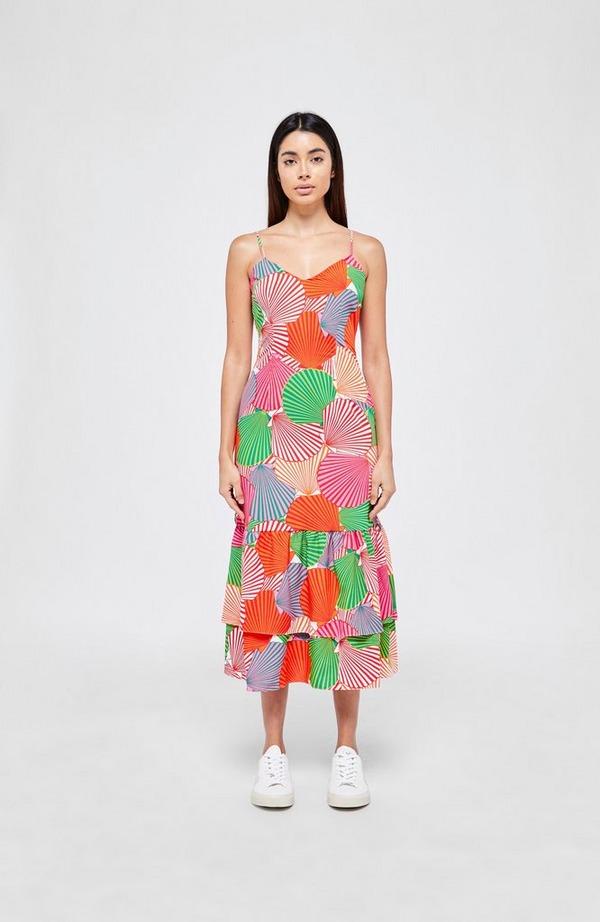 Frida Summer Shell Strappy Dress