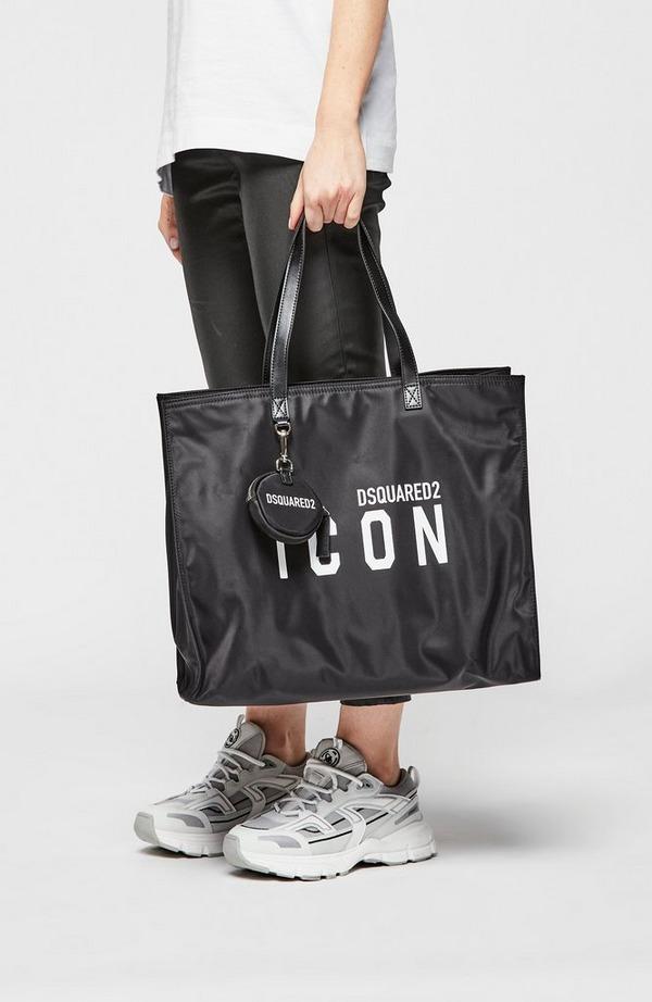 Icon Nylon Shopper Bag