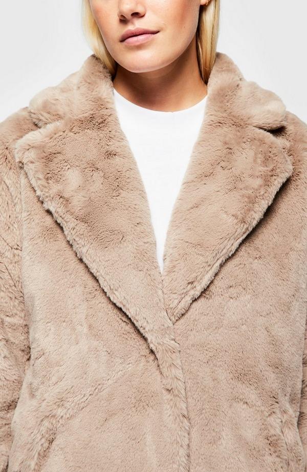 Joela Faux Fur Jacket