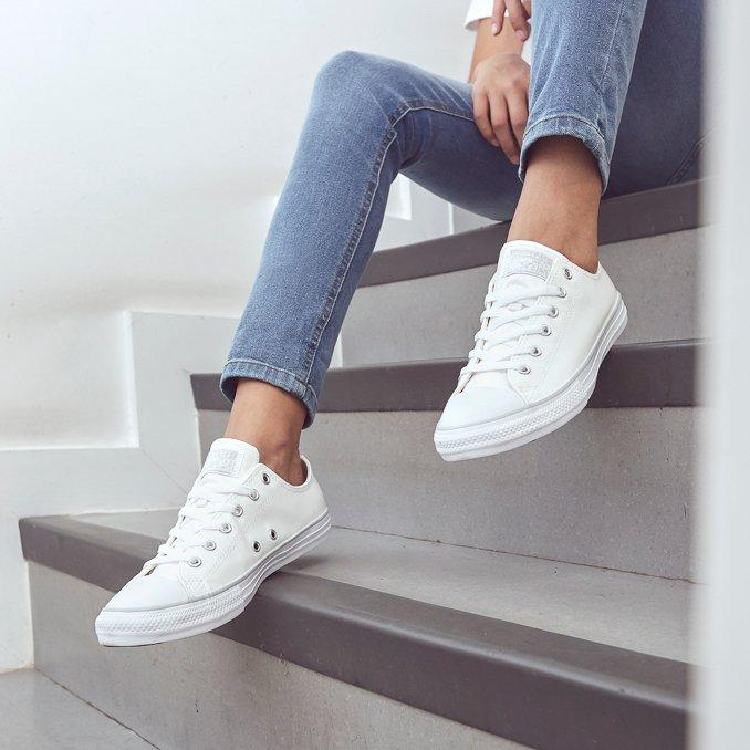 CONVERSE ALL STAR LEATHER OX BRANCAS