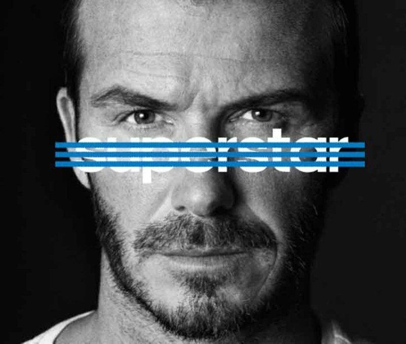 Beckham adidas Originals superstar
