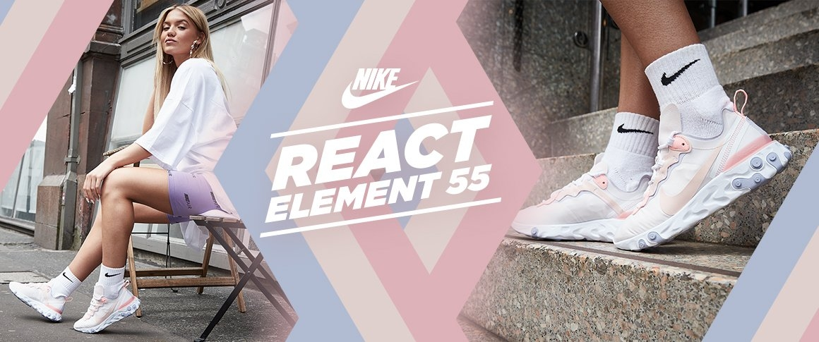 sports shoes 6e0dc 6d54c nike react element 55
