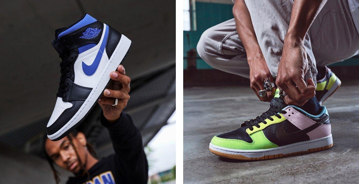 Air Jordan 1 and Nike Dunk Colourways