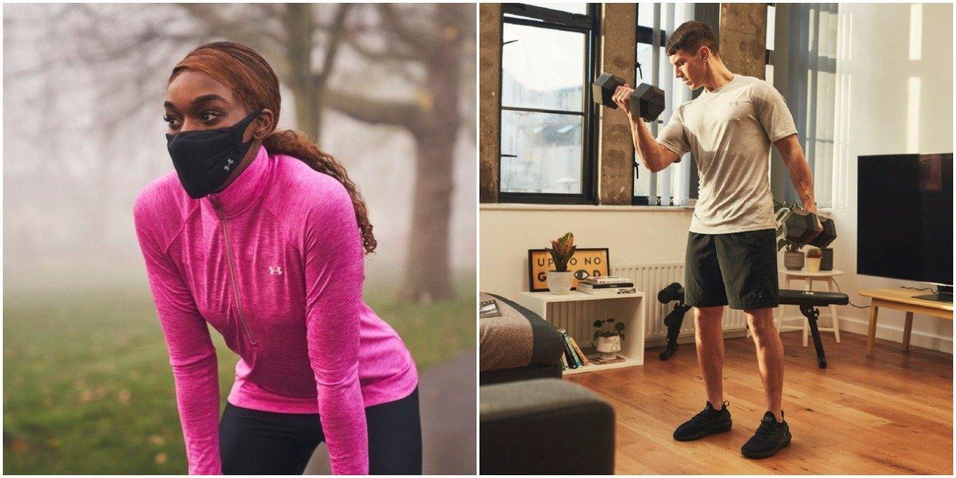 Mulher e homem a praticar desporto personalidade