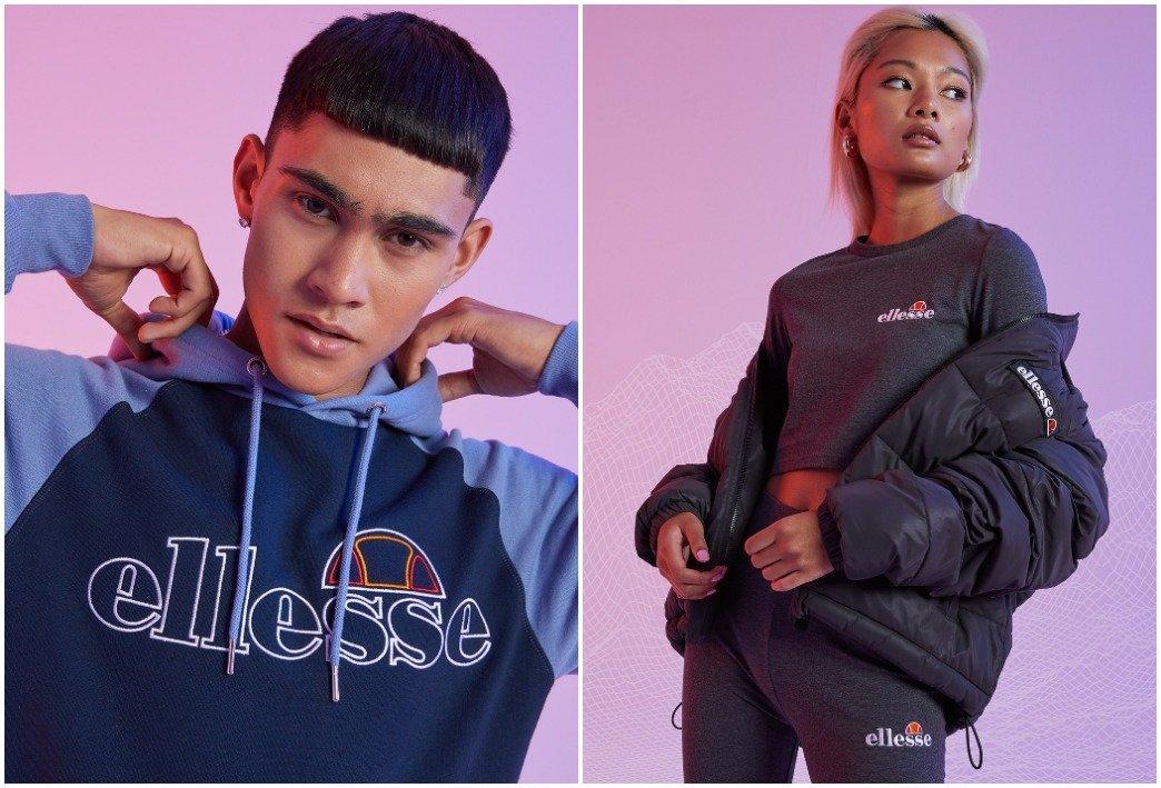 Colección streetwear Ellesse hombre y mujer