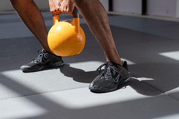 Loopanalyse fitnessschoenen
