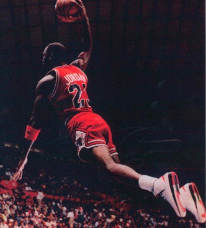 Dunk Michael Jordan with AJII