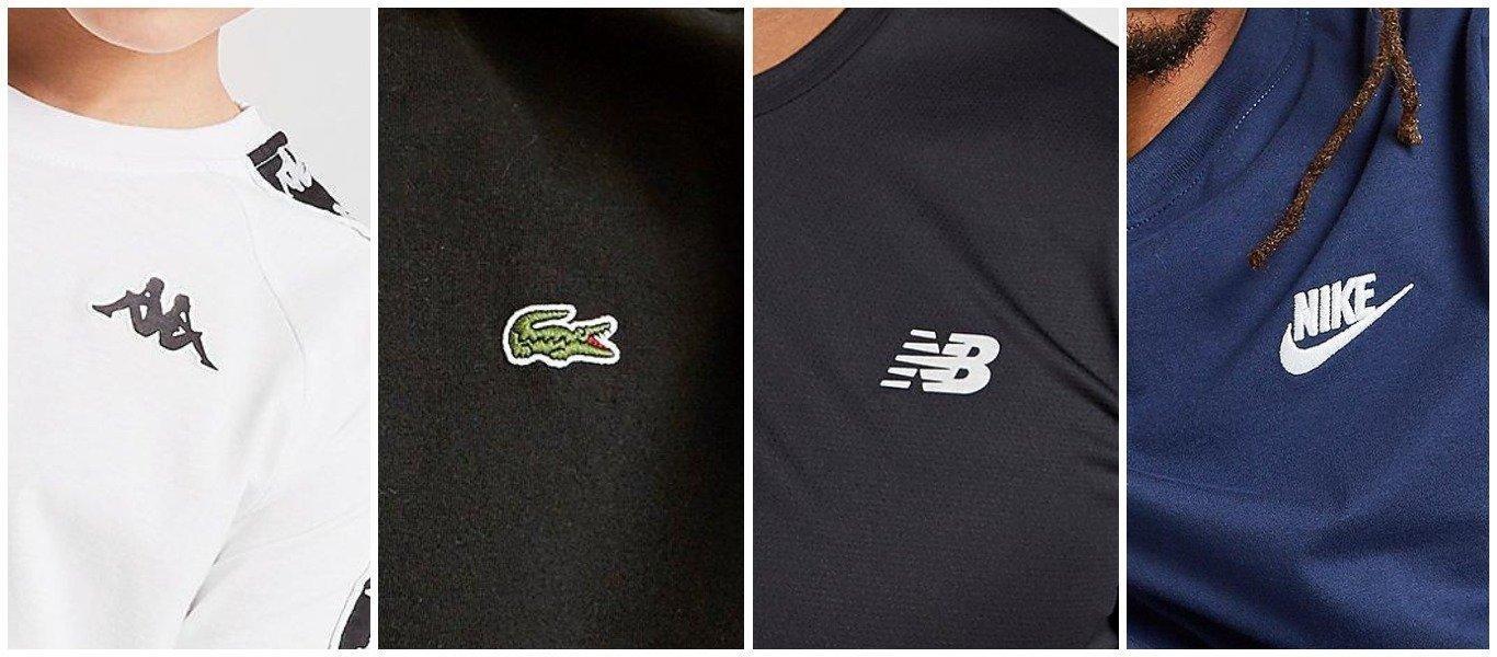 t-shirt loghi brand nomi delle marche