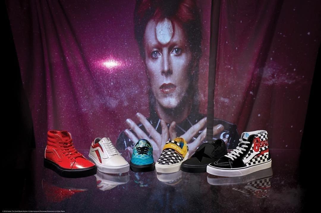 Colaboración especial Vans x Bowie