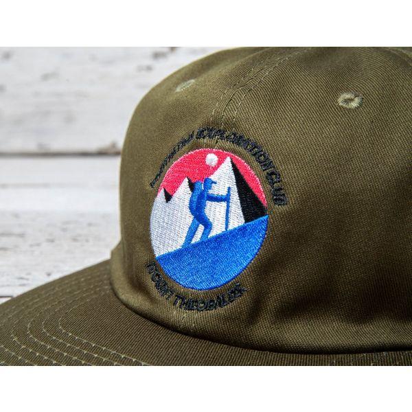 Footpatrol x Theobalds: Exploration Club Logo Cap