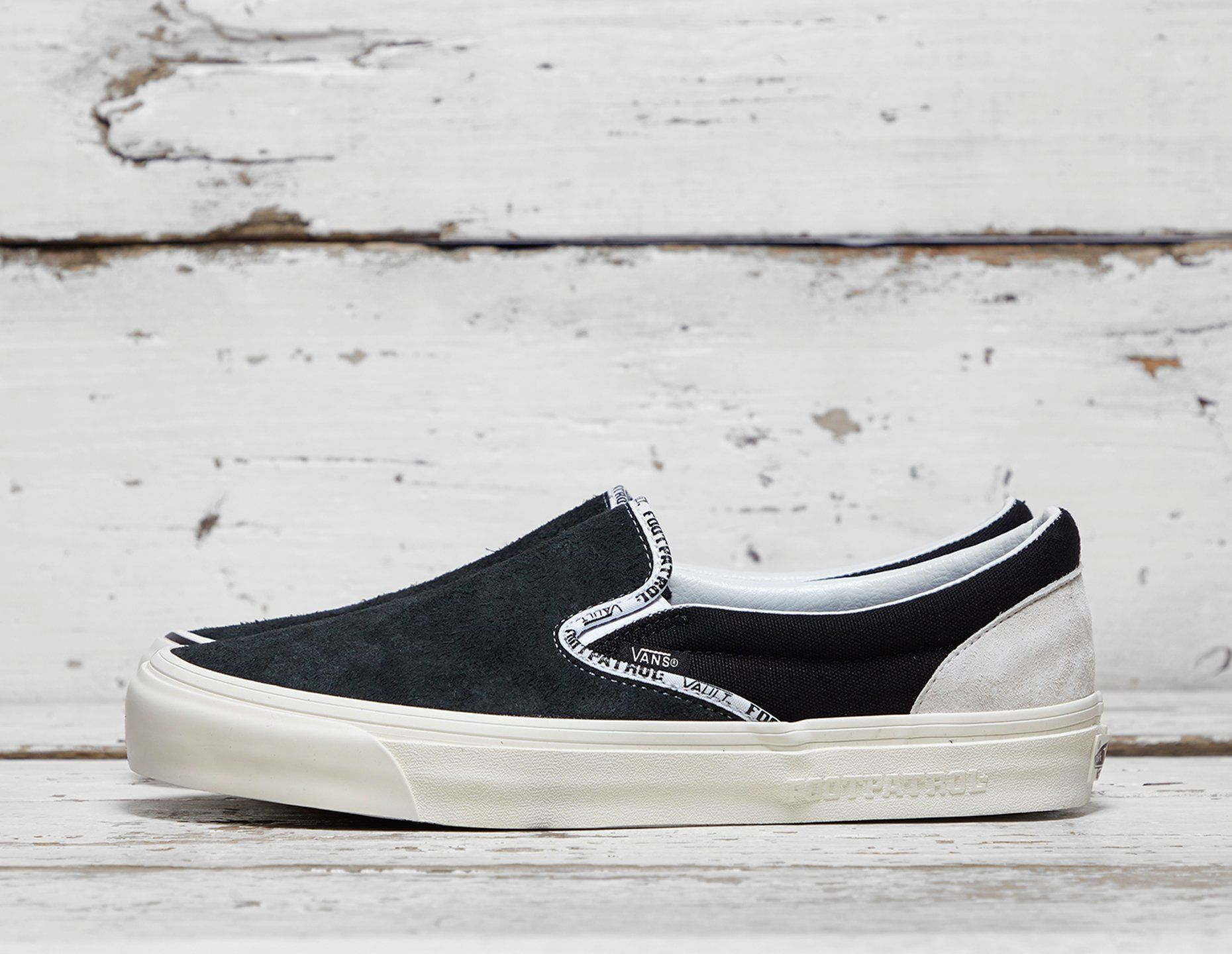 Vault by Vans x Footpatrol Slip-On LX