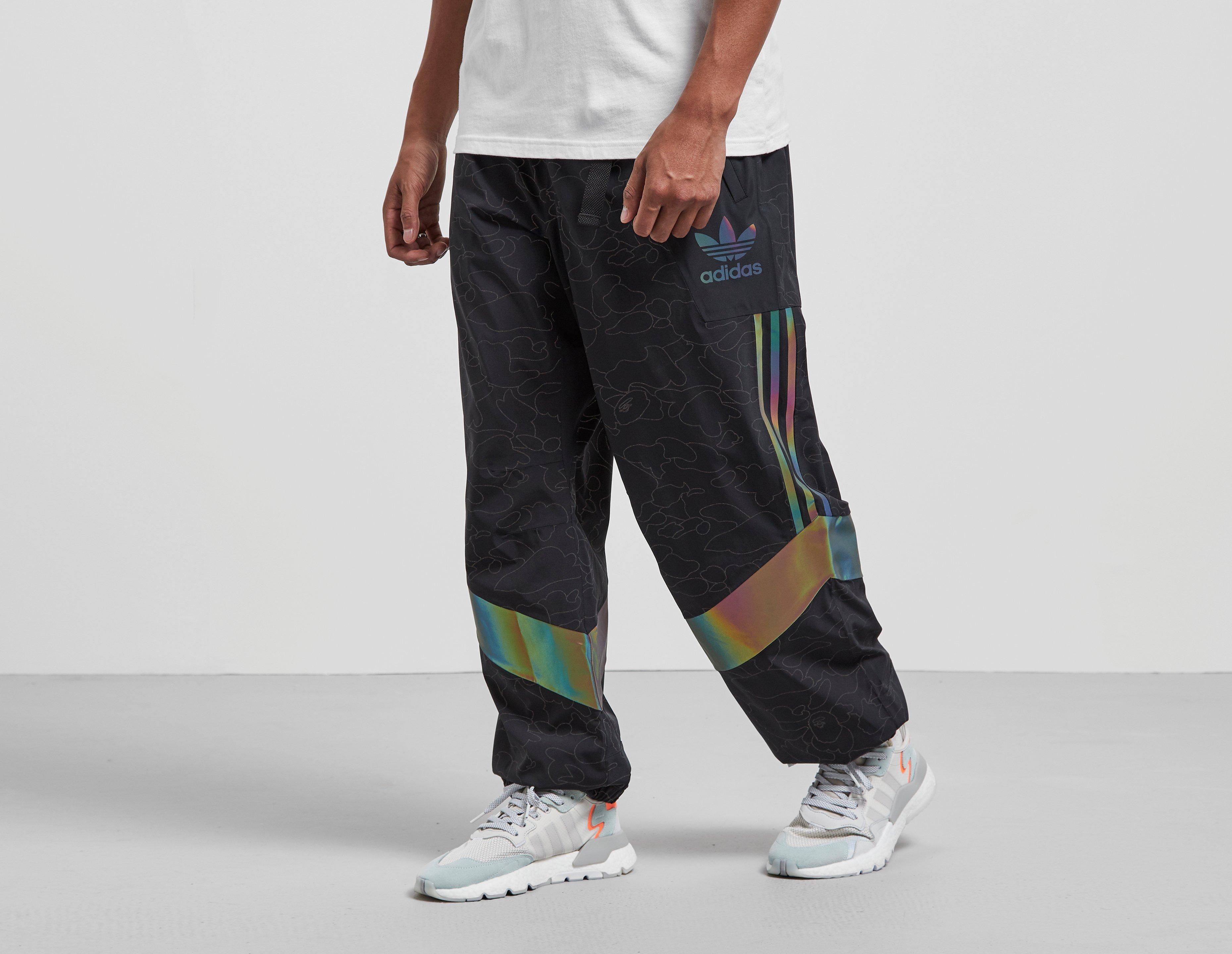 bape x adidas shorts