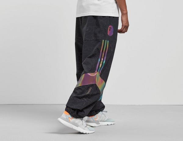 pantaloni adidas x bape