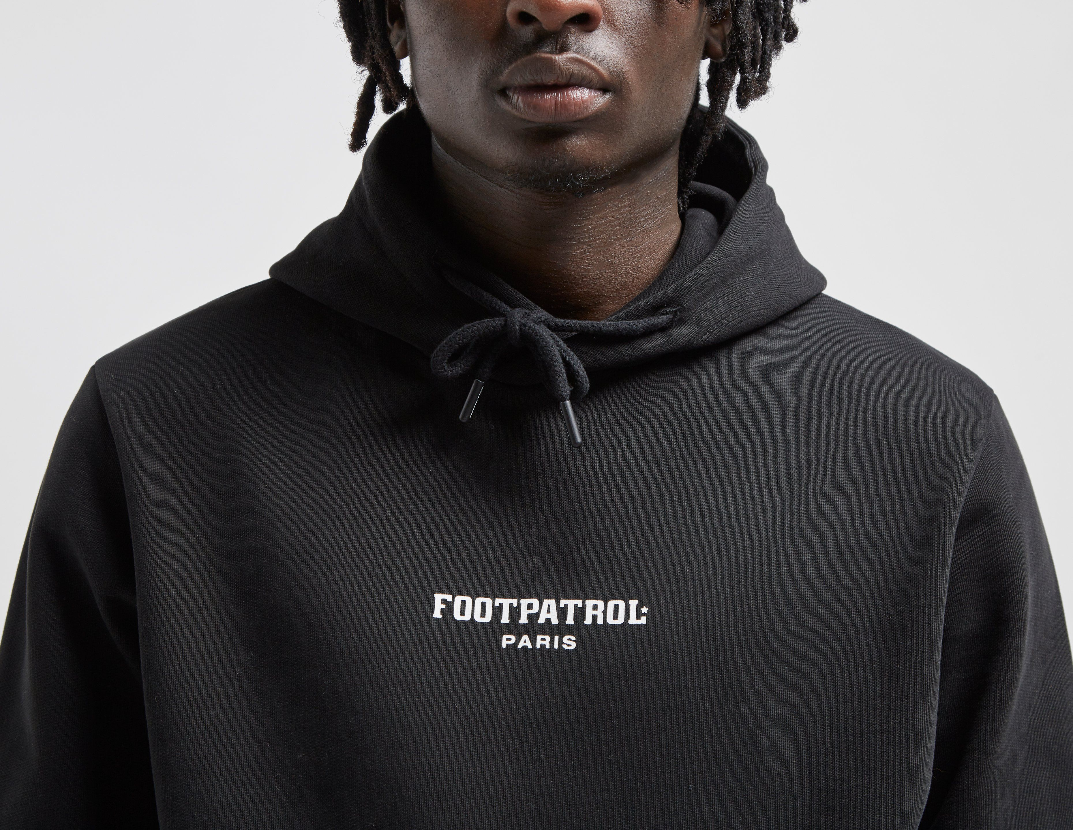 Footpatrol Paris Bar Logo Hoody