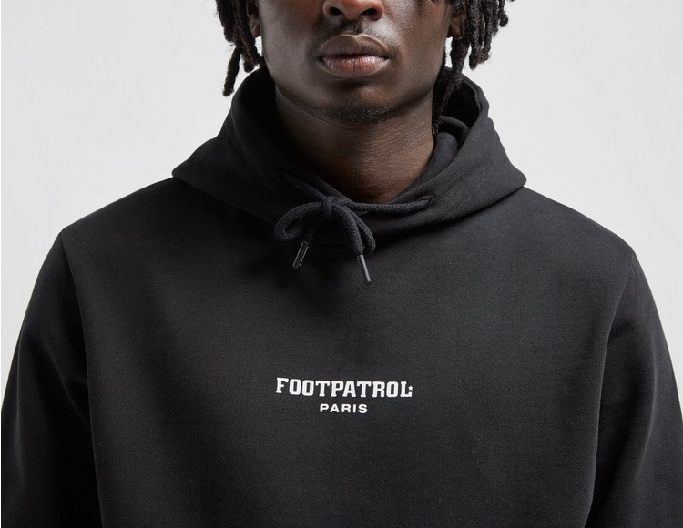 Footpatrol Paris Bar Logo Hoody