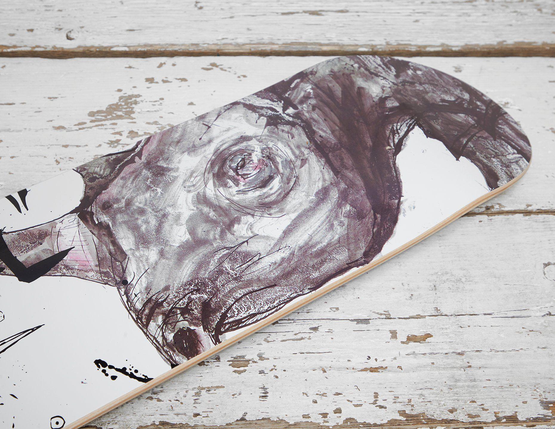 Vault by Vans x Ralph Steadman Black Rhino Deck