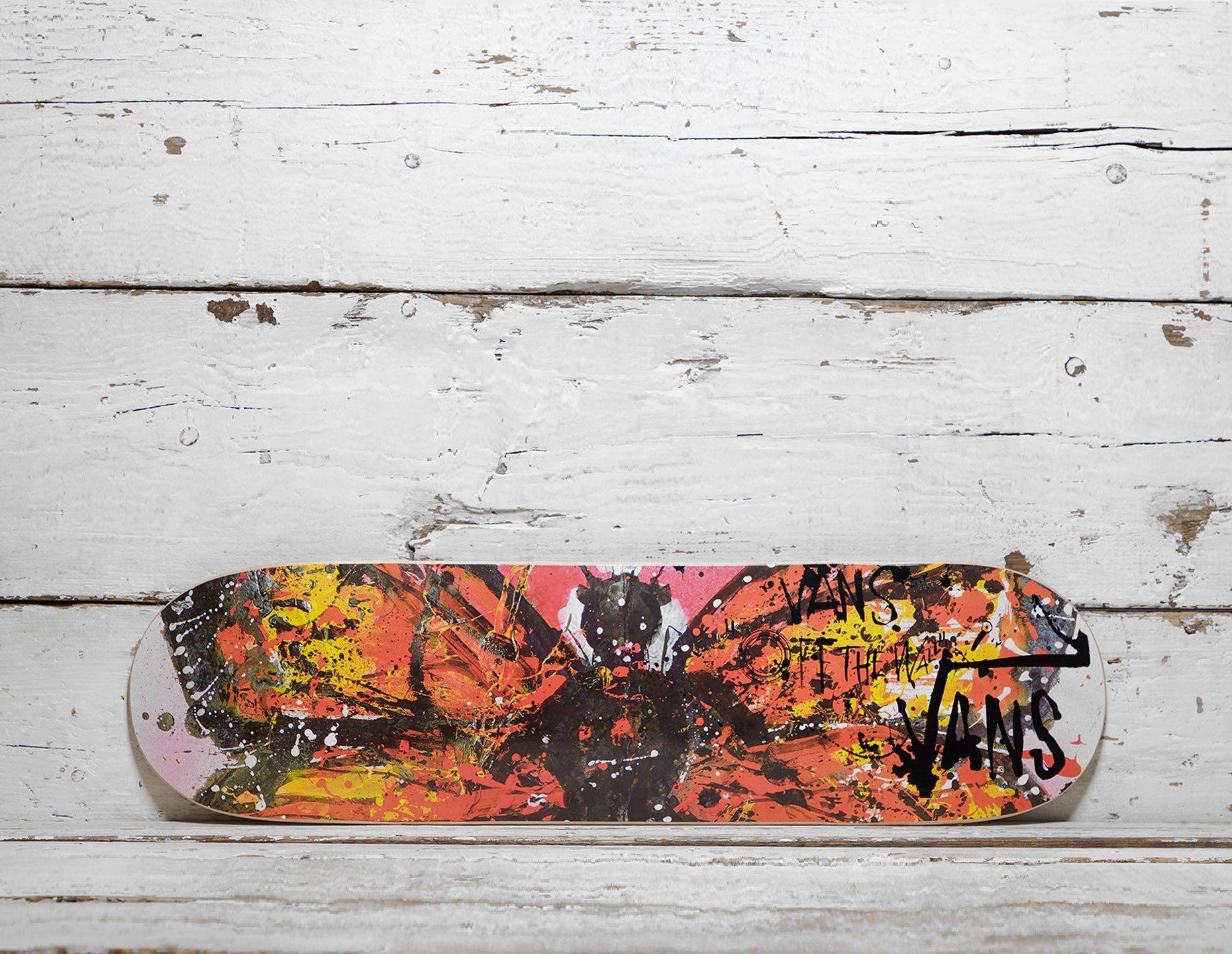 Vault by Vans x Ralph Steadman Skate Deck