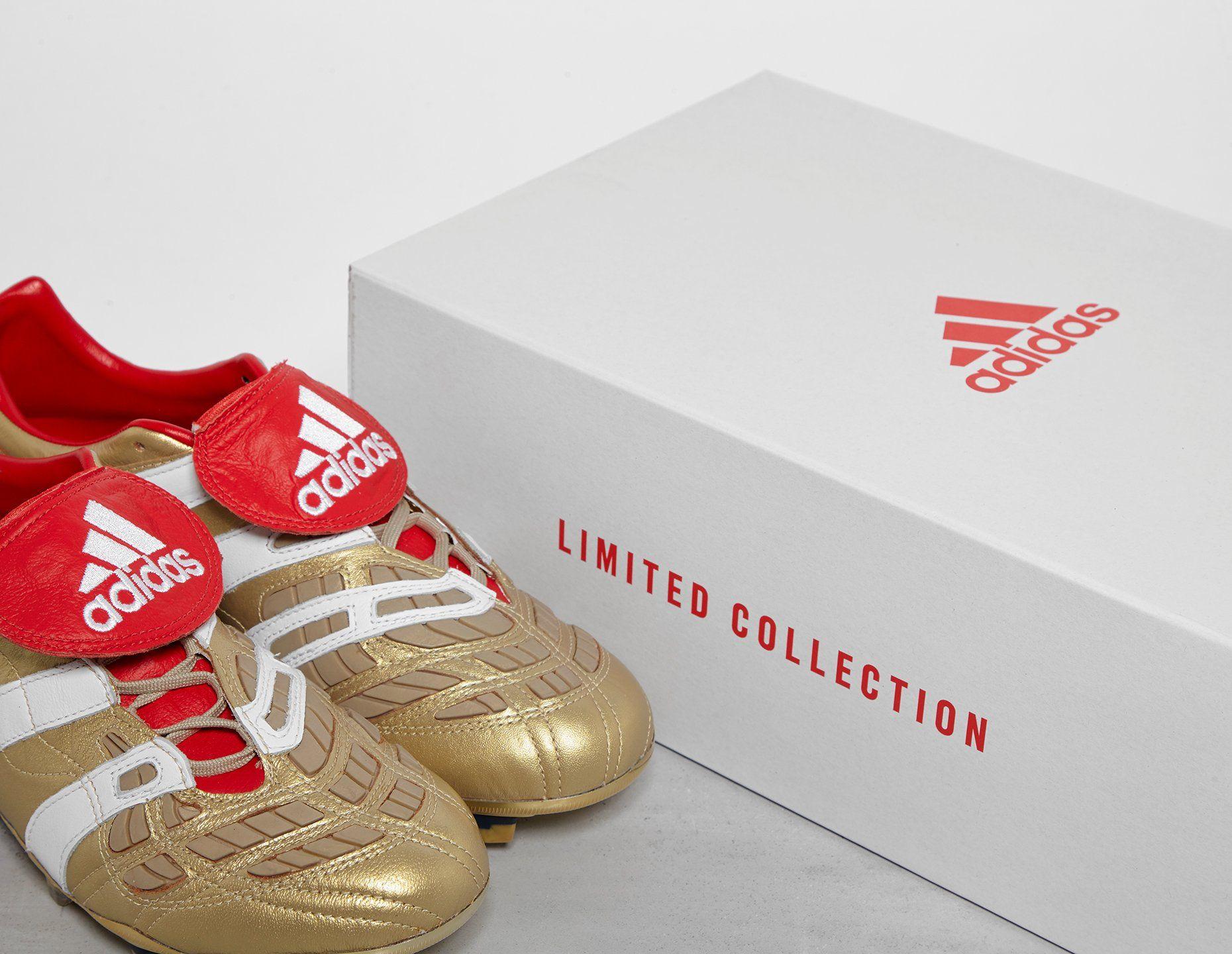 adidas Consortium Beckham x Zidane Predator Accelerator FG